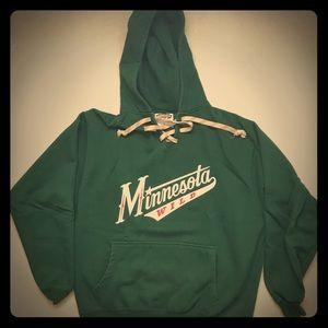 Minnesota Wild Hoodie - Authentic Stitching